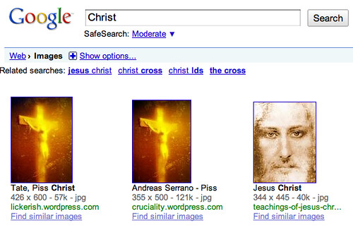 Christ Search on Google