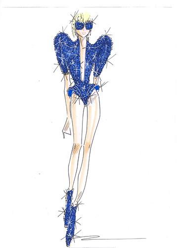 Gaga Sketch 2