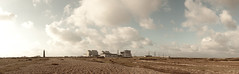 i'm in a wide open space (lomokev) Tags: sky panorama cloud lighthouse canon landscape eos nuclear 5d dungeness powerstation nuclearpower nuclearpowerstation canoneos5d yahoo:yourpictures=skyline