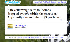 Blue collar wage rates