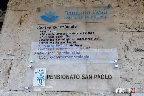 Nuovi ambulatori specialistici Bambino Gesu'