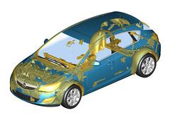 Kunststoff-Rezyklate im Opel Astra
