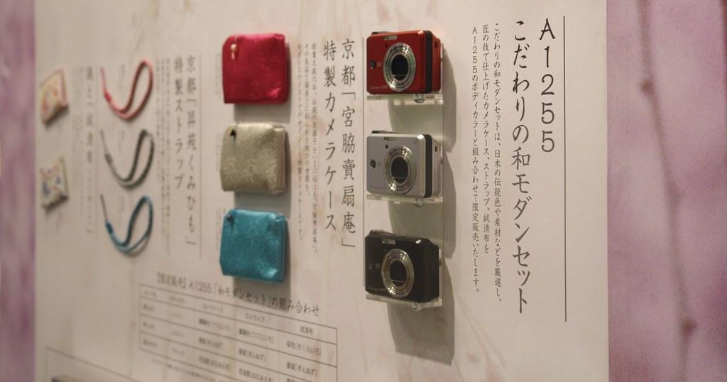 GE A1255 : Japanese modern (WA-MODERN) style camera