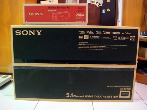 Sony HT-SF360 家庭劇院組 + WAHT-SA1 無線傳輸套件
