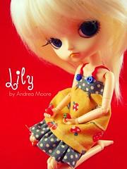 Lily (Dal Cinnamoroll) (Sock Hop Adoption Shop) Tags: red cute girl strawberry doll child strawberries dal kawaii blonde cinnamoroll obitsu junplanning dalcinnamoroll