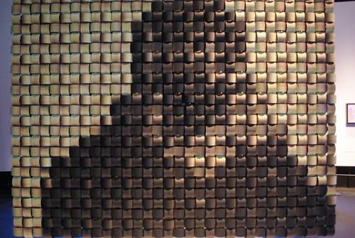 Weave Mirror, Daniel Rozin