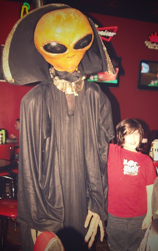 my boy with the alien (which is which?)