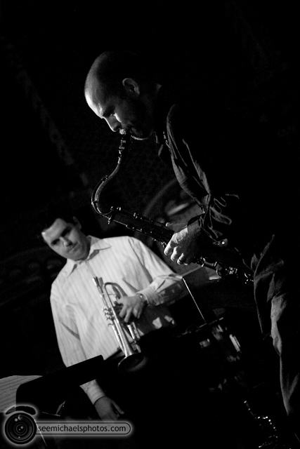 New Standard Jazz Quintet at Tango Del Rey 32110 © Michael Klayman-016