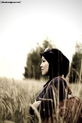 Sabrina : A Cinematic Portraiture ~ (thedeadgeneral) Tags: girl asian 50mm model women asia sweet f14 hijab malaysia tone melayu malay malacca cantik gadis thedeadgeneral