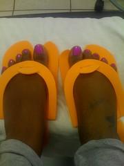 74494058 (chilltown1) Tags: feet toes ebony