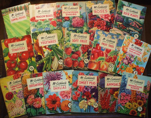 Mr Cuthbert's gardening guides 1953