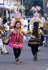 Karagattam (MRK Clicks) Tags: two music india color festival happy drums mirror dance nikon mood folk crowd streetphotography enjoy balance chennai tamilnadu rhythm cwc coordination mrk mylapore d40 karagattam chennaiweekendclickers mrkclicks