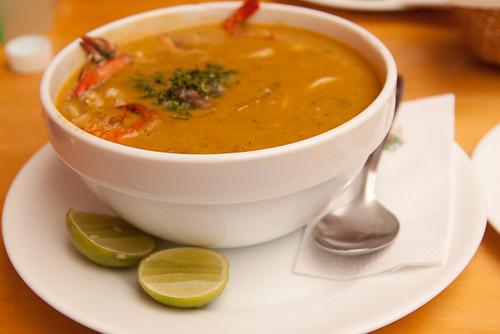 Sopa Marinera-Seafood Soup at Ceviches de la Rumiñahui