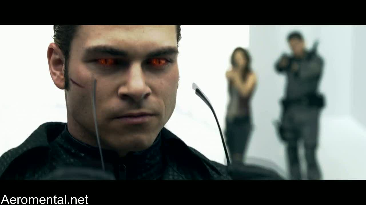 Resident Evil Afterlife Wesker red eyes