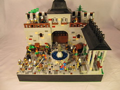 City Gate (vdubguy67') Tags: tower castle classic gate king lego fort knight drawbridge lug moc afol