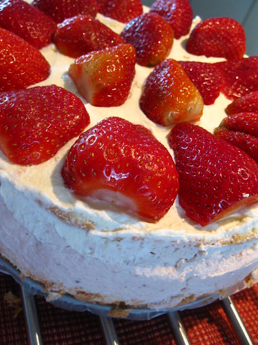Strawberry Cheesecake from Alex Goh recipe