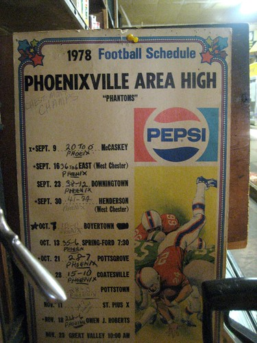 Phoenixville Area High 1978 Footbal Schedule
