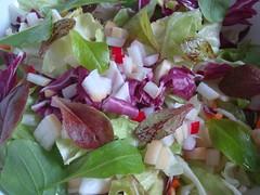 Kleurrijke salade
