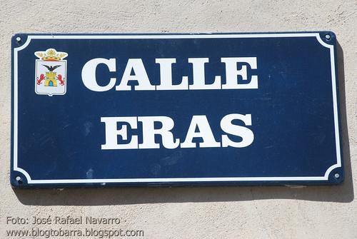 Placas - Calle Eras