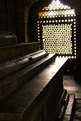 6116  Tomb in Old Delhi, India  (light on such heavy stone) (TropicB) Tags: light shadow india texture peace shadows delhi indian ngc tomb ringexcellence