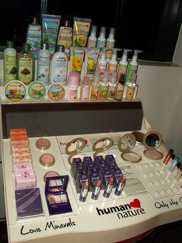 human nature beauty products