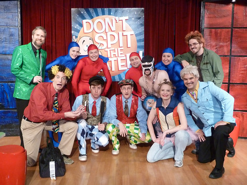 The Don't Spit the Water pilot cast