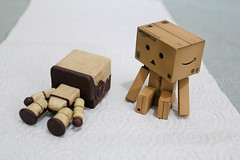 It's time to wake up (Jelowish) Tags: wood friends toys friendship box gifts robo danbo revoltech littlebigplanet danboard
