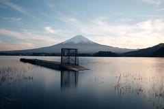 Mt Fuji (fredMin) Tags: mountain fuji lake long exposure snow tokyo japan xt1