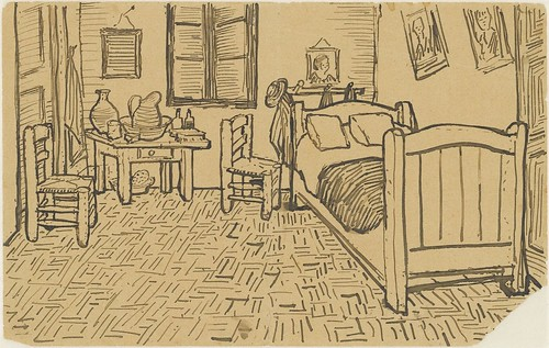 The bedroom - October 1888 (705)