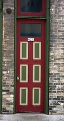 Algoma-doorway-4th St (pixn8tr) Tags: brick wisconsin algoma