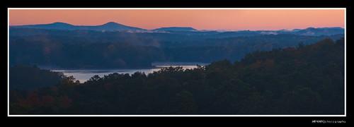 Sunrise over Lake Lanier - Panorama, Cumming, GA