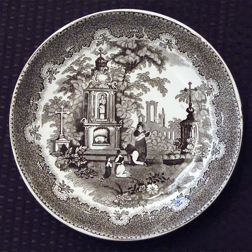 Chatillon - DeMenil House, in Saint Louis, Missouri, USA -  mourning plate 2