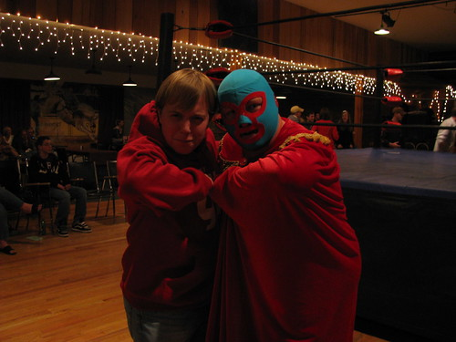 Tim and Nacho Libre