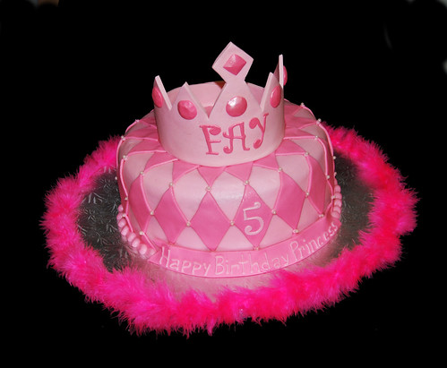 4086599841 0407456f05 Girls First Birthday Cake