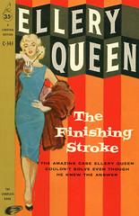 The Finishing Stroke (McClaverty) Tags: mystery illustration paperback crime murder pulp detective suspense elleryqueen jerryallison