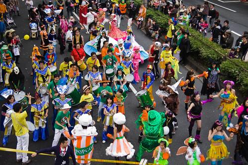 Omotesando-Avenue-Halloween-Drummers-&-Dancers,-Tokyo-8678 by Buz Carter.