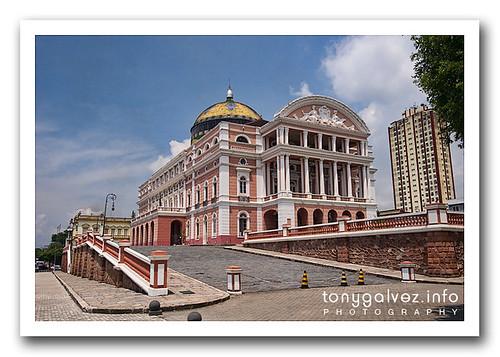 Teatro Amazonas, Manaos