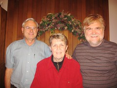 Mike Miller, Laurel Stuart and Bill