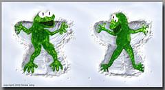 Frog angels