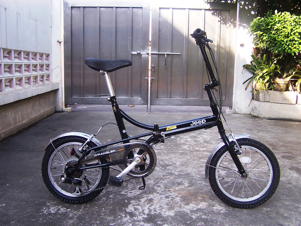 Jeep Wrangler Folding Bicycle