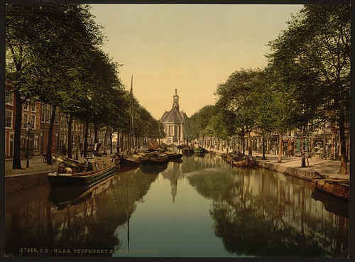 [Peat market and new church, Hague, Holland] (LOC)