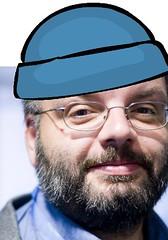Robert mit blauer Mütze