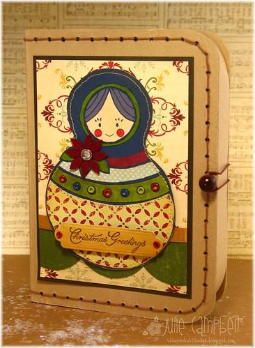 Matryoshka Christmas Box