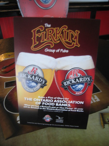 Raise a Pint of Rickard's 09 - Launch event