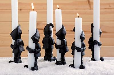 cb2 elf candleholder