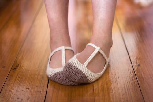 Skimmer T-Strap Ballet Flats