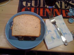 The Lillis Leftover - turkey sandwiches!!!!