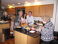 gracious hosts, Thanksgiving 09