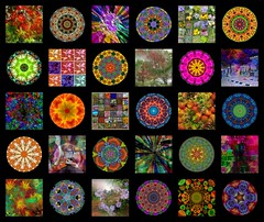 Digital Quilt 2 (Joana Roja - work and migraines - coming back..) Tags: art abstractart collages patterns myart kaleidoscopes hypothetical digitalquilt theawardtree amazingeyecatcher struckbyrainbow