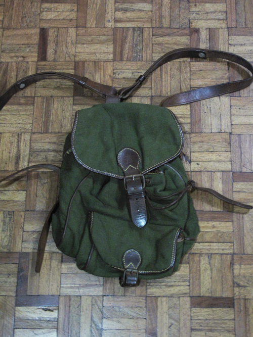 Green backpack 01